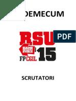 Vademecum Scrutatori #RSU2015
