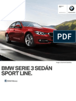 Ficha Tecnica BMW 328iA Sedan Sport Line Automatico 2015