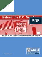 ACLU Marijuana in Black and White Behind the DC Numbers