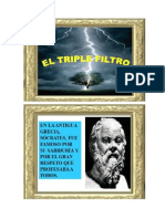 Tres Filtros Socrates