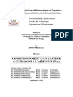 Conditionnement Capteur US Aide FPAA