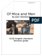 Revision Guide to of Mice and Men