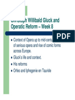 Gluck and Opera Reform