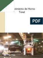 Horno Tunel ( Diseño de Revestimiento )