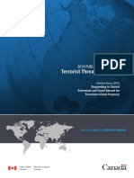 2014 Public Report On The Terrorist Threat To Canada