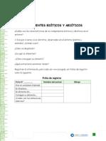 Componentes Abiotico y Bioticos Unidad N1 Ciencia Naturales