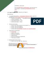resumen de Lupus Eritematoso Sistemico