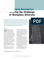 Meeting the Challenge of Workplace Diversity