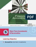 CH.5 Short-Term Investments & Receivables