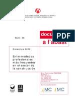 Enfermedades Profesionales Más Frecuentes en El Sector de La Construcción