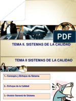 Tema 2. Sistemas de La Calidad