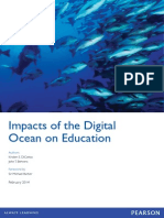 Impacts of the Digital Ocean on Education