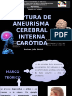 Caso Clinico Ruptura de Aneurisma realizado por estudiante  de enfermeria