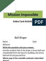 index card ppt