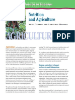 Nutrition and Agriculture (3)