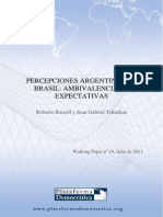 Percepciones Argentinas de Brasil