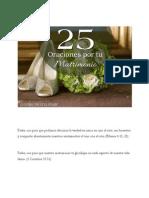 25 Oraciones Por Tu Matrimonio
