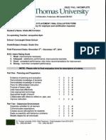 final evaluation - nov - dec 2014