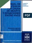 Ramon Meza Barros Manual de La Sucesion Por Causa de Muerte