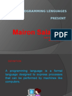 Programming Lenguages Final