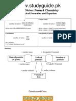 Chem(o)(1) Notes - Studyguidepk