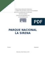 Parque Nacional La Sirena - Venezuela