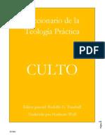 Diccionario de La Teologia Prac - Rodolfo G. Turnbull