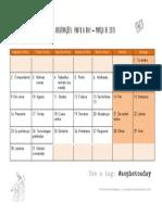 2015 - Calendário #Aophotoaday - Março