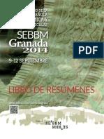 Libro Resumenes Congreso SEBBM Granada 2014 Post
