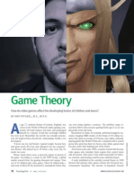 Game Theory How Do Video Games Affect the.17