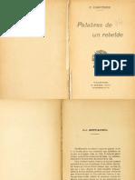 Piotr Kropotkin - Palabras de Un Rebelde