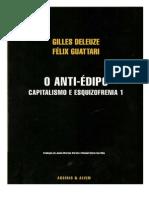 Deleuze e Guattari - O Anti-Édipo [Cap[1]. 1 - 53 Pág]