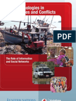 New Technologies in Emergencies and Conflicts