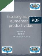 ¿Como Aumentar La Productividad?