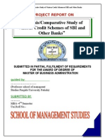 SBI Mba Project Report