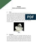 Kristal Dan Kristalografi II