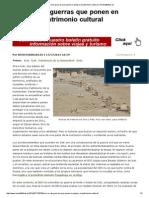 Siria e Irak Guerras Que Ponen en Peligro El Patrimonio Cultural Revista80dias