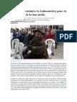 El Frenazo E conómico en Latinoamérica Pone en Riesgo El Alza de La Clase Media
