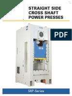 SEW-SXP Series Power Press Brochure