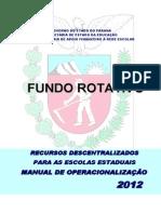 Manual Fundo Rotativo