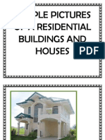 Sample Pictures of a Residential Buildings and Houses