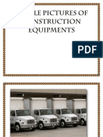 Sample Pictures of Construction Equipments