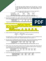 Soal Latihan Kinetika Kimia