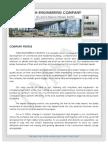Tmsm Engineering Company.sample Company Profile