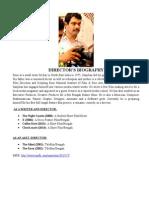 Director's (Sanjiban Nath) Bio
