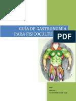 Guía de Gastronomía Para Fisicoculturistas(1)