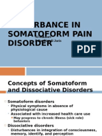 Somatoform and Sleep Disorders
