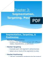 Chapter 3 - Target Marketing