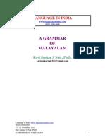 Malayalam Grammar