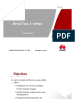 DriveTest Analysis